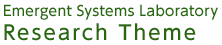 Emergent systems laboratory Research theme